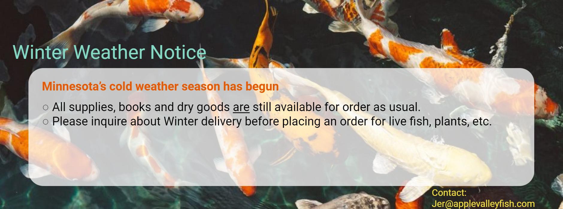 20201201 - Winter Weather Notice